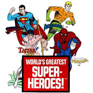 Mego Worlds Greatest Superheroes